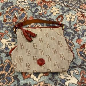 Dooney & Bourne Signature Print Shoulder Bag